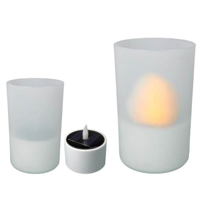 led kaarsen met solar