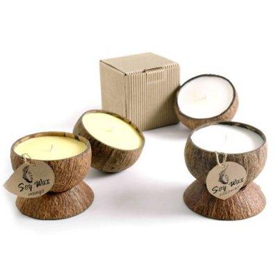 Kokosnoot sojakaarsen