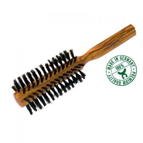 olijfhouten haarborstel