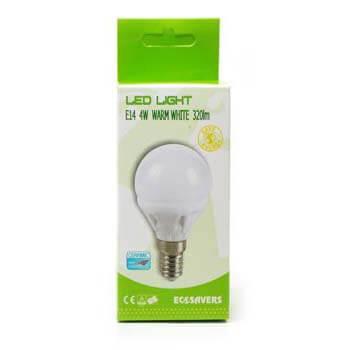 Eco ledlamp Miniglobe E14