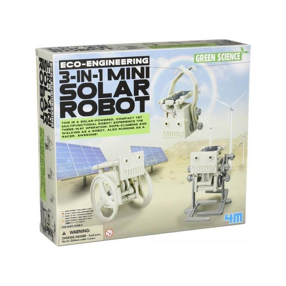 Robot bouwpakket Mini Solar