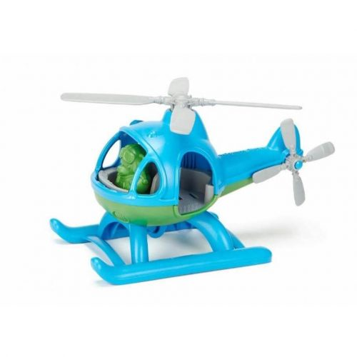 Helikopter blauw gerecycled