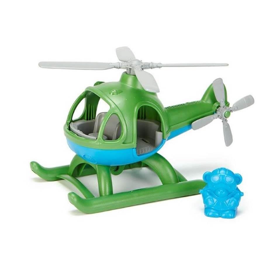 Helikopter groen gerecycled