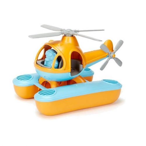 Waterhelikopter oranje - gerecycled