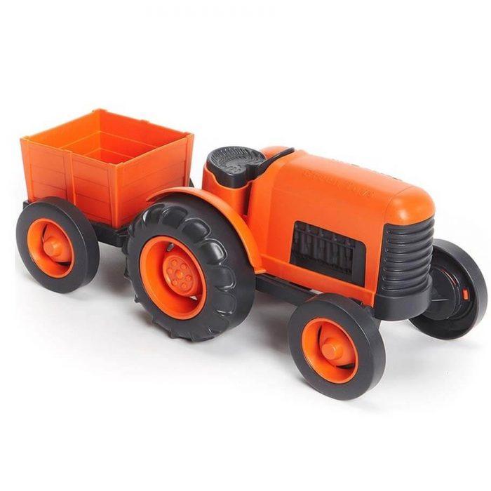 Speelgoedtractor - gerecycled