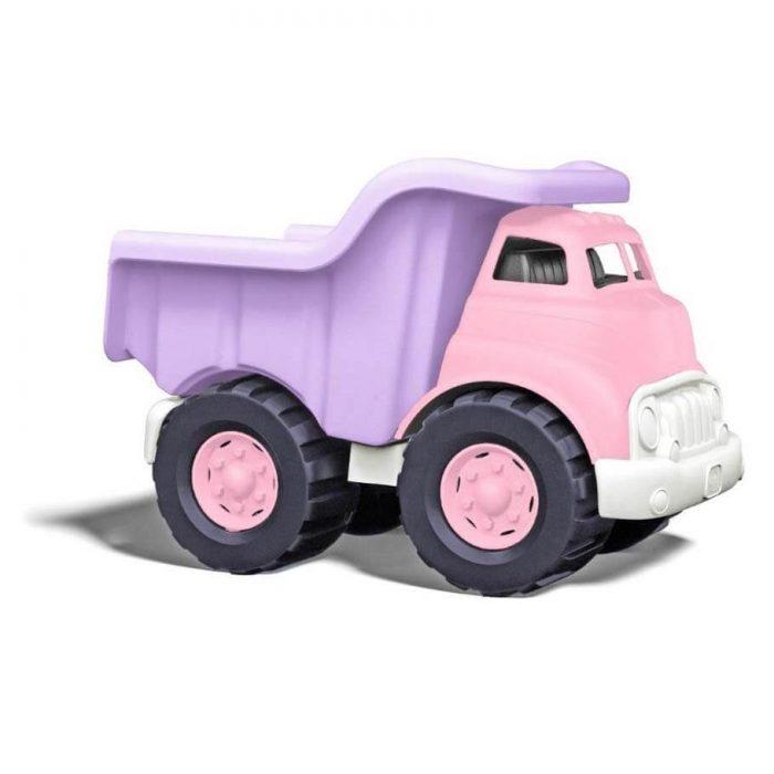 Roze kiepwagen - gerecycled