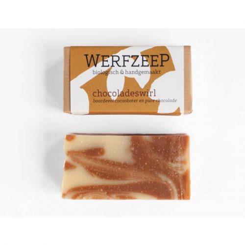 Werfzeep chocoladeswirl - 100 gr