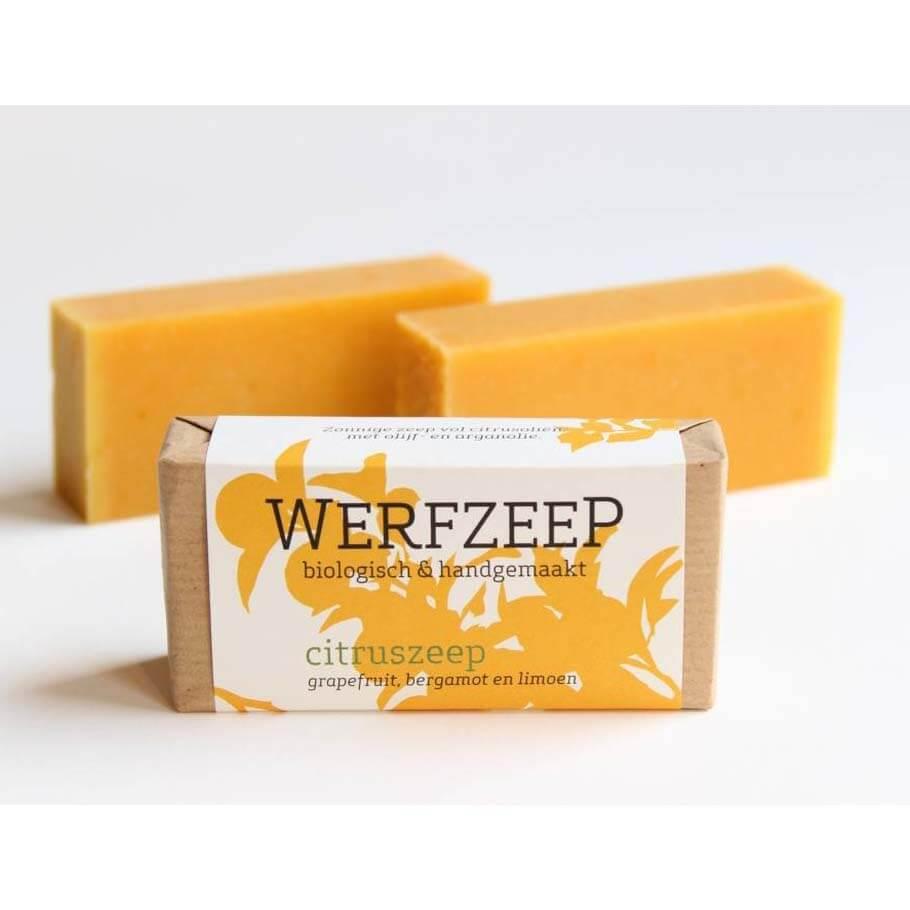 Werfzeep citruszeep - 100 gr