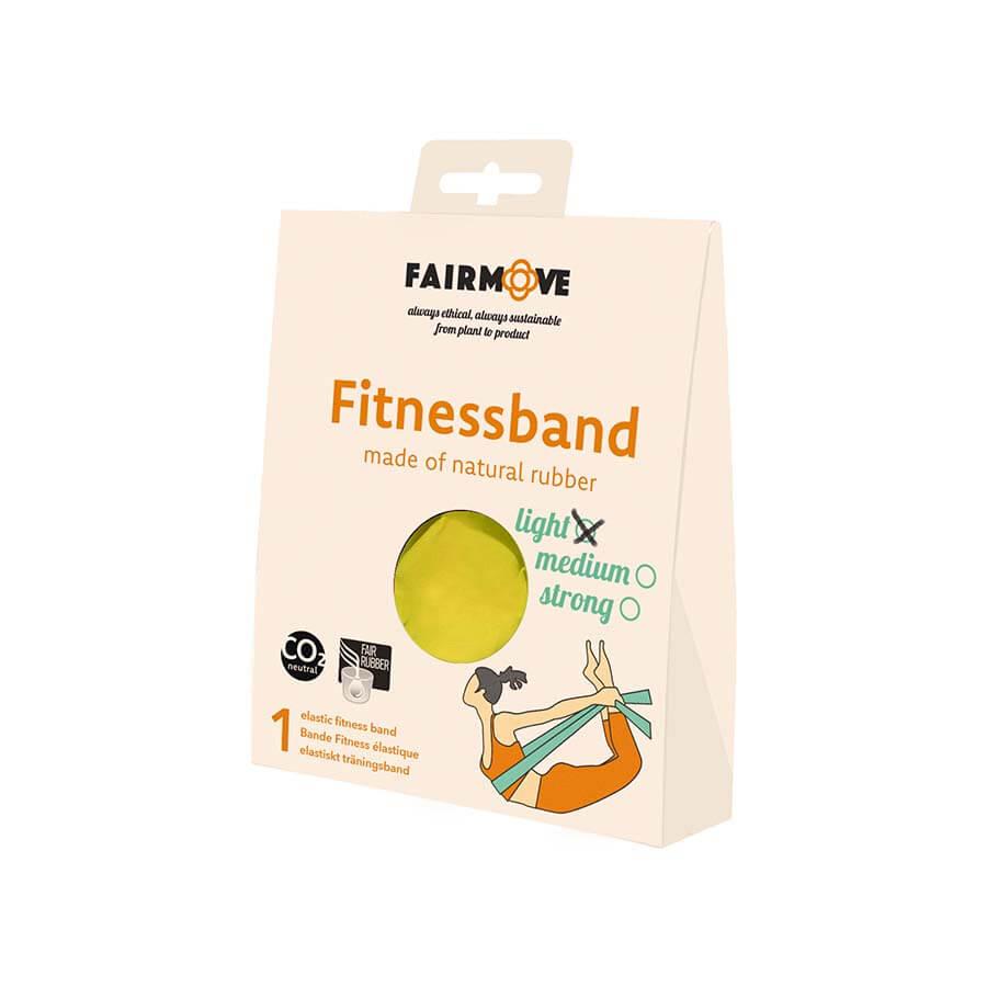 fitnessband geel
