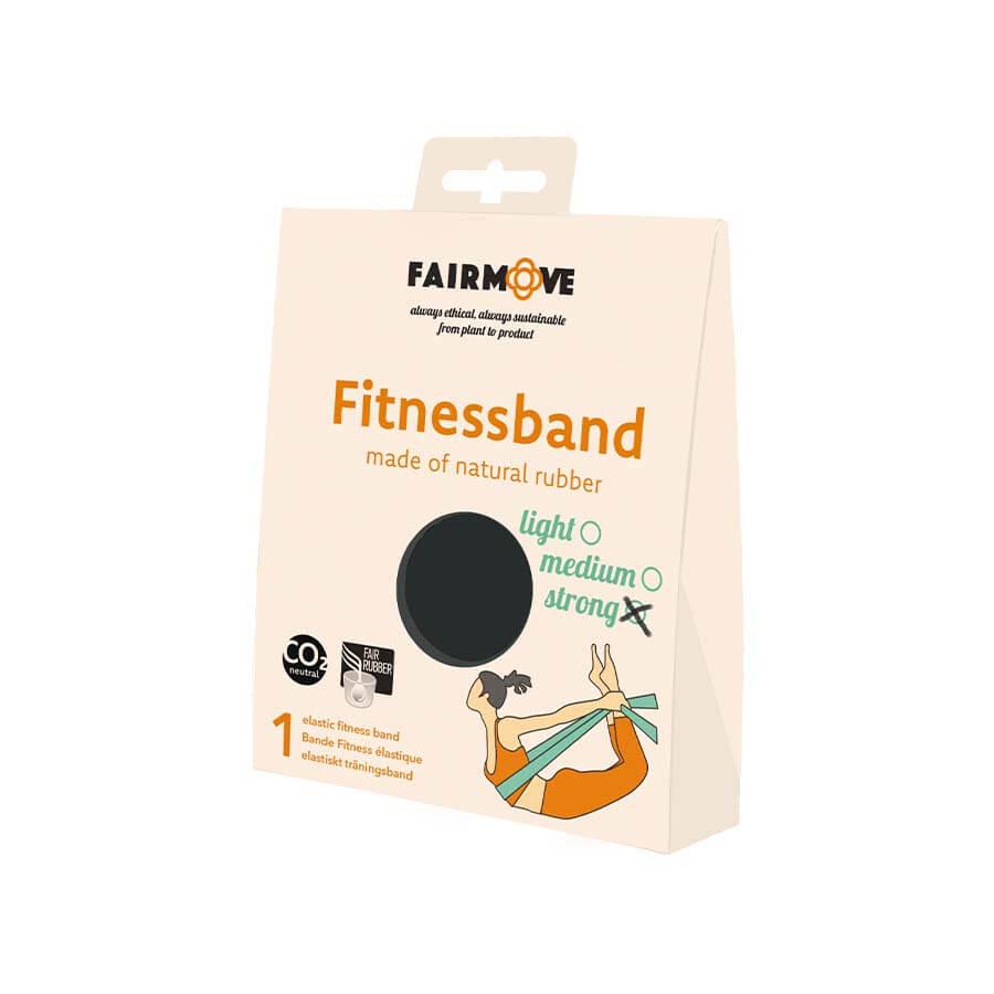 fitness band zwart