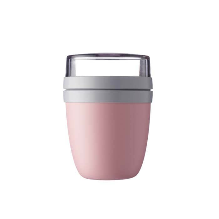 Lunchpot ellipse Nordic pink