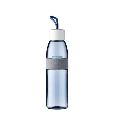 Waterfles ellipse 500 ml - Nordic demin