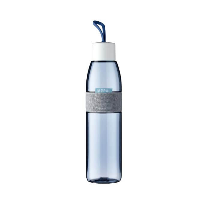 Waterfles ellipse 700 ml - Nordic demin