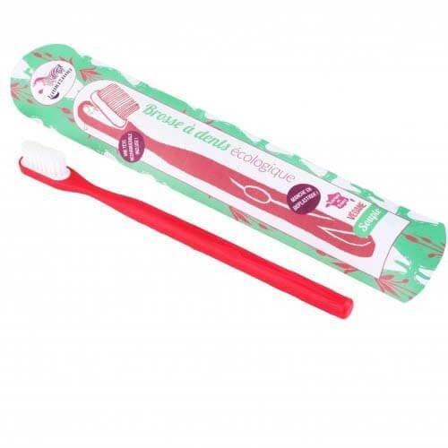 Tandenborstel Rood Soft verwisselbare kop