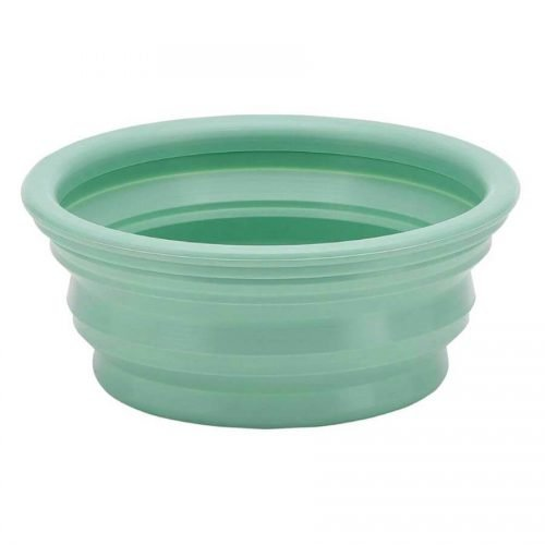 Waterbak on the go natuurrubber - Pale Green