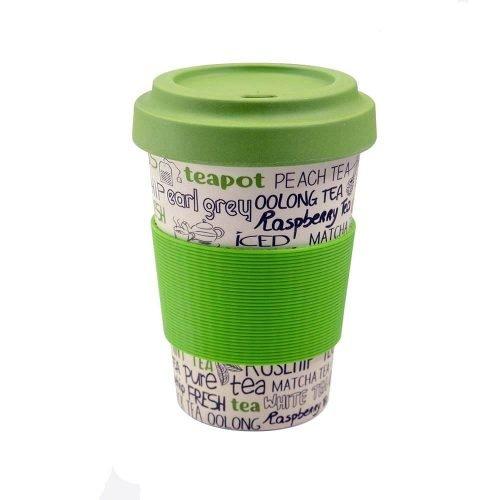 bamboe koffiebeker groen