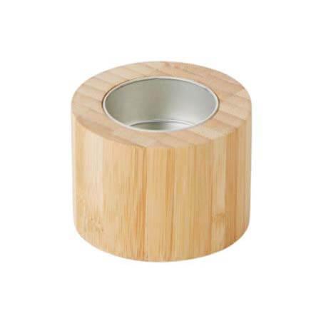 Bamboe theelichthouder