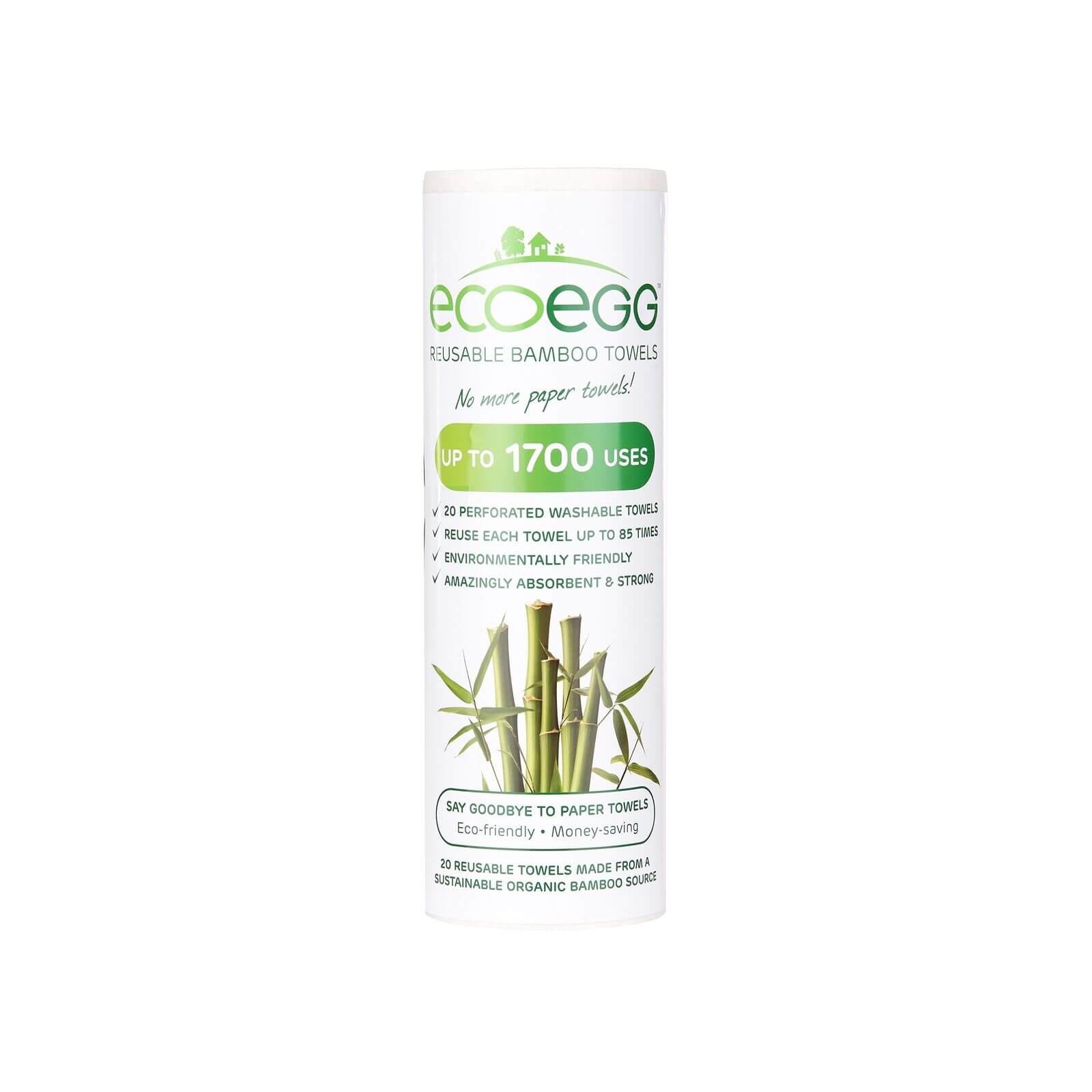 Bamboo Schoonmaakdoekjes
