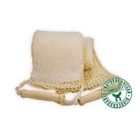 Massage band sisal-loofah
