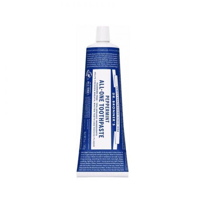 Tandpasta Pepermunt zonder fluoride