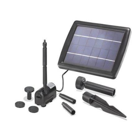 Solar vijverpomp 2W Kompleet