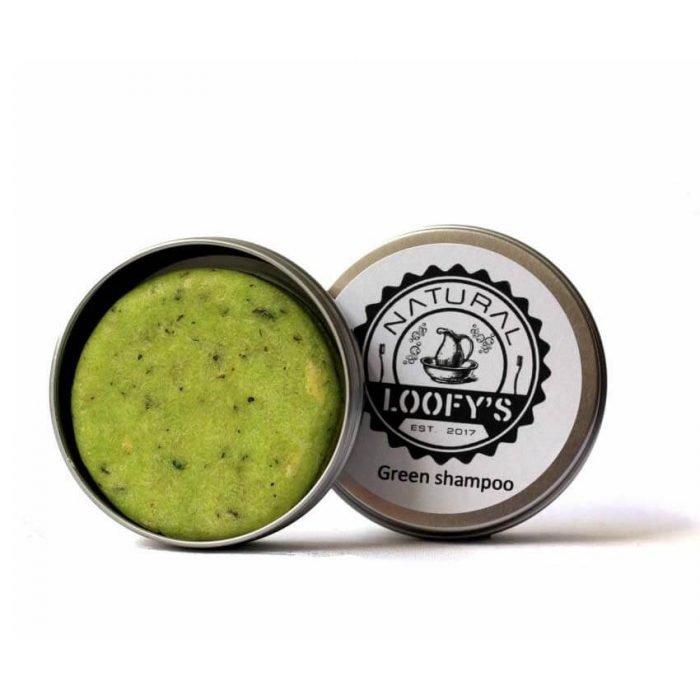 Shampoo Green - normaal/droog haar