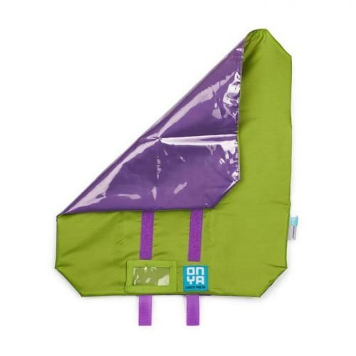 Sandwich Wrap Green Purple