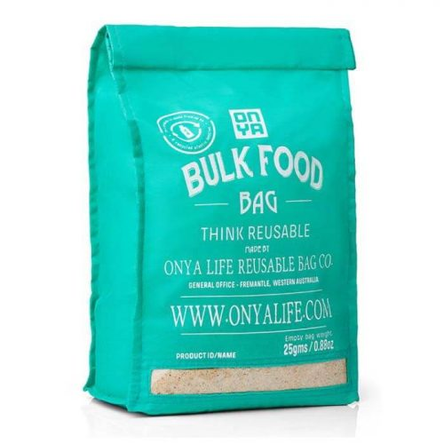 Herbruikbare Bulk Food Bag Aqua