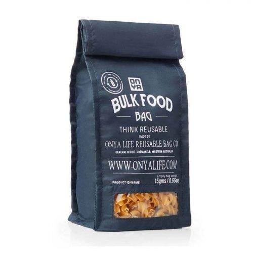 Herbruikbare Bulk Food Bag - Small - Black