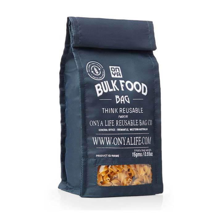 Herbruikbare Bulk Food Bag Black