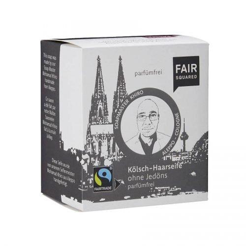 FairSquared Shampoo Bar voor een kale kop