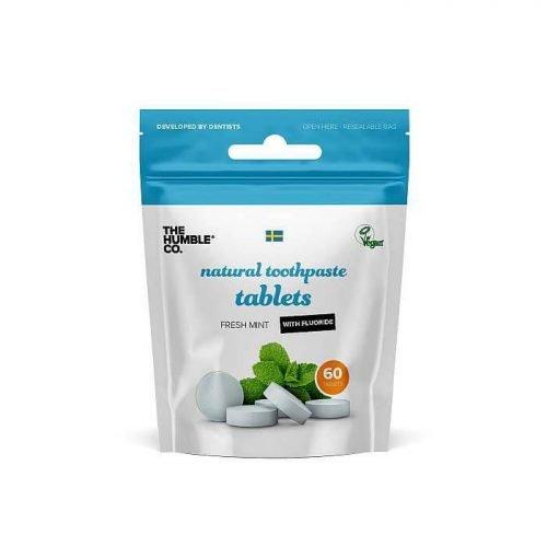 Tandenpoets tabletten met fluoride