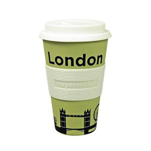 Bamboe koffiebeker to go Londen