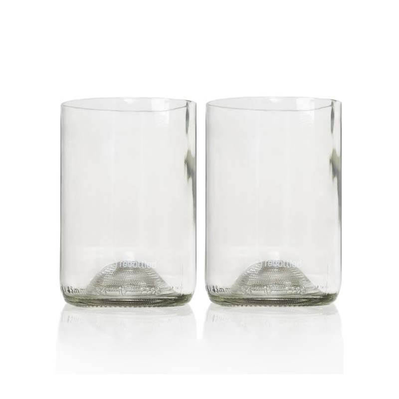 Rebottled Glazen clear