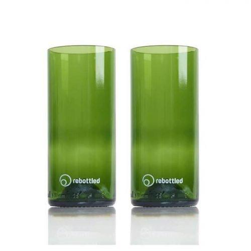 Rebottled longdrink Glazen Green