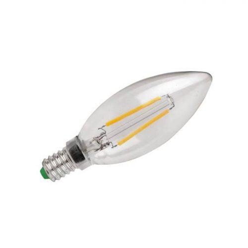 Ledlamp E14 kaars helder