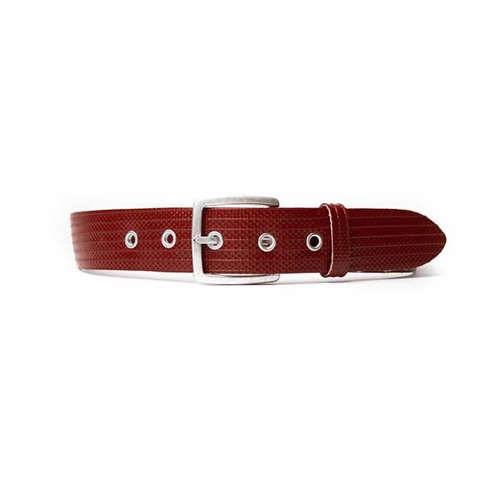 GRIP1 Brandweerslang riem rood zilver (man)
