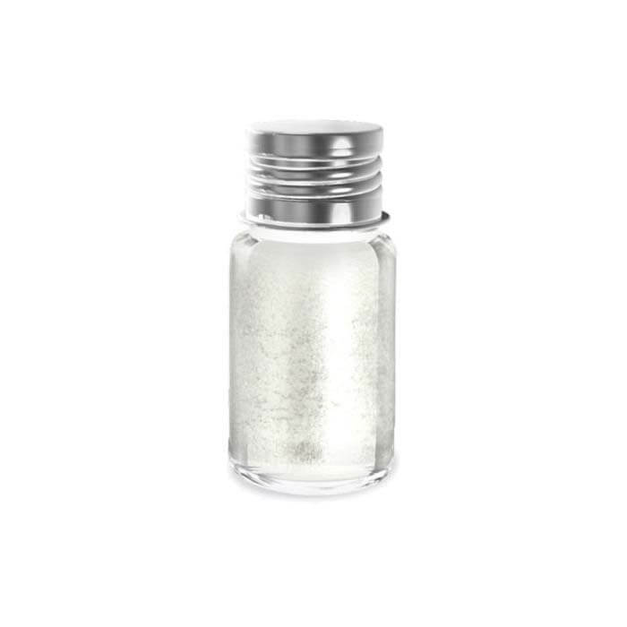 Kinder Glitterpoeder - Zilver - Navulling