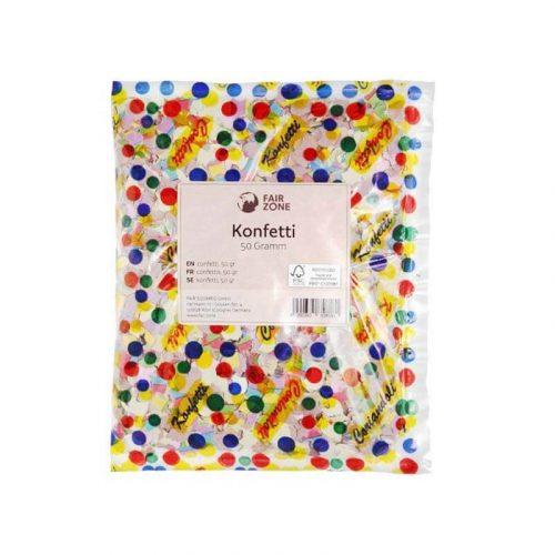 Papieren confetti
