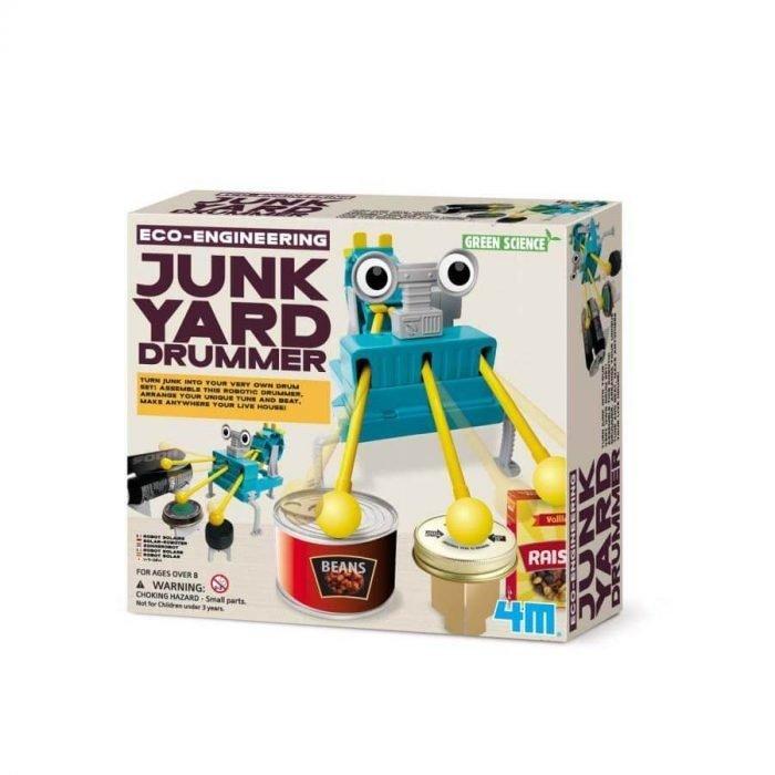 Robot bouwpakket Drummer