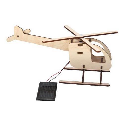 Bouwpakket - Helikopter met zonnepaneel