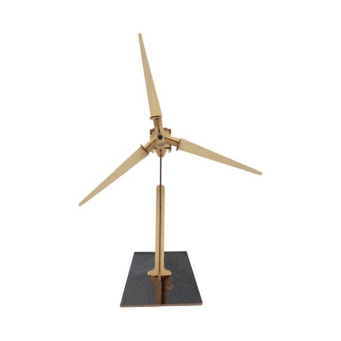 Windmolen op zonne-energie