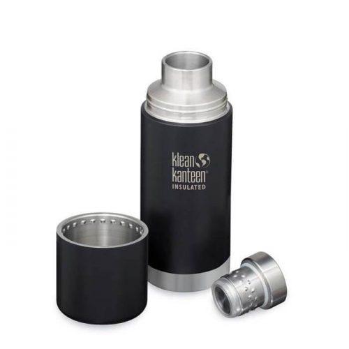 RVS Thermosfles TK Pro Shale Black