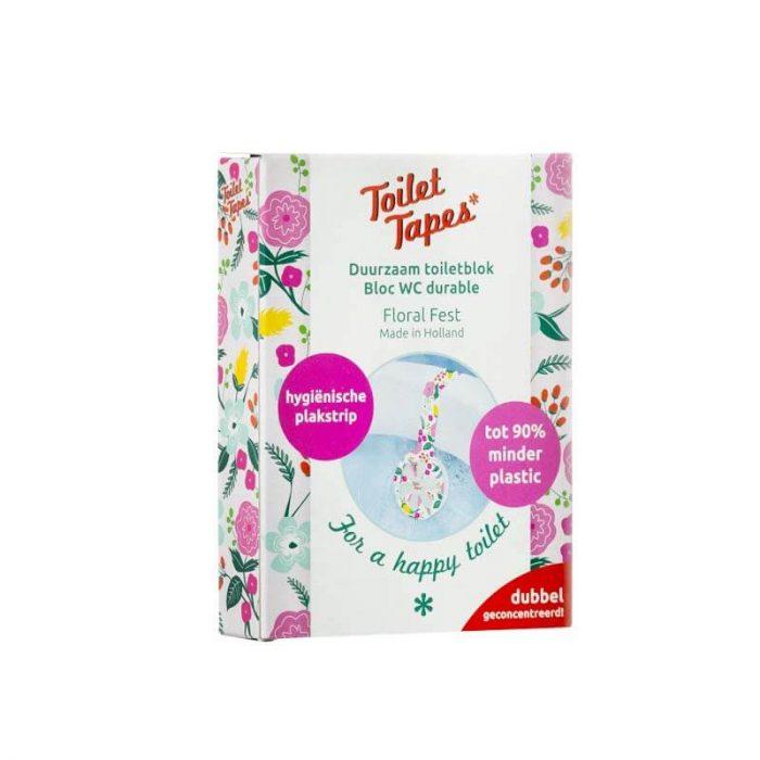 Toilettape wc blokje Floral Fest