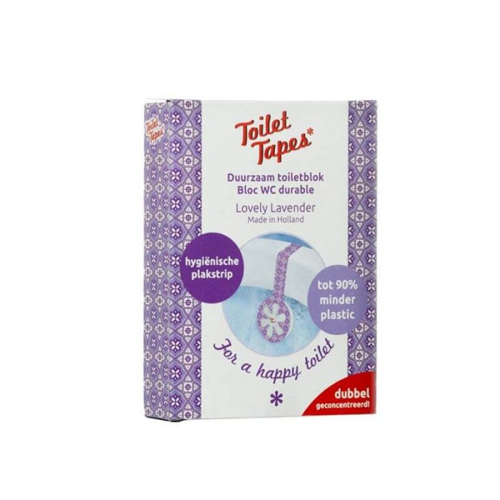 Toilettape wc blokje Lovely Lavender