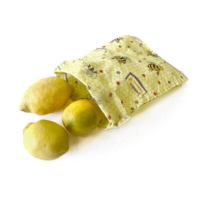 Bijenwas lunchbag Kids print S