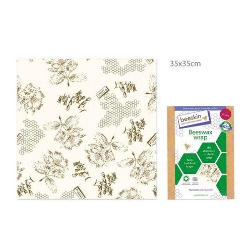 Bijenwasdoek Flower print L