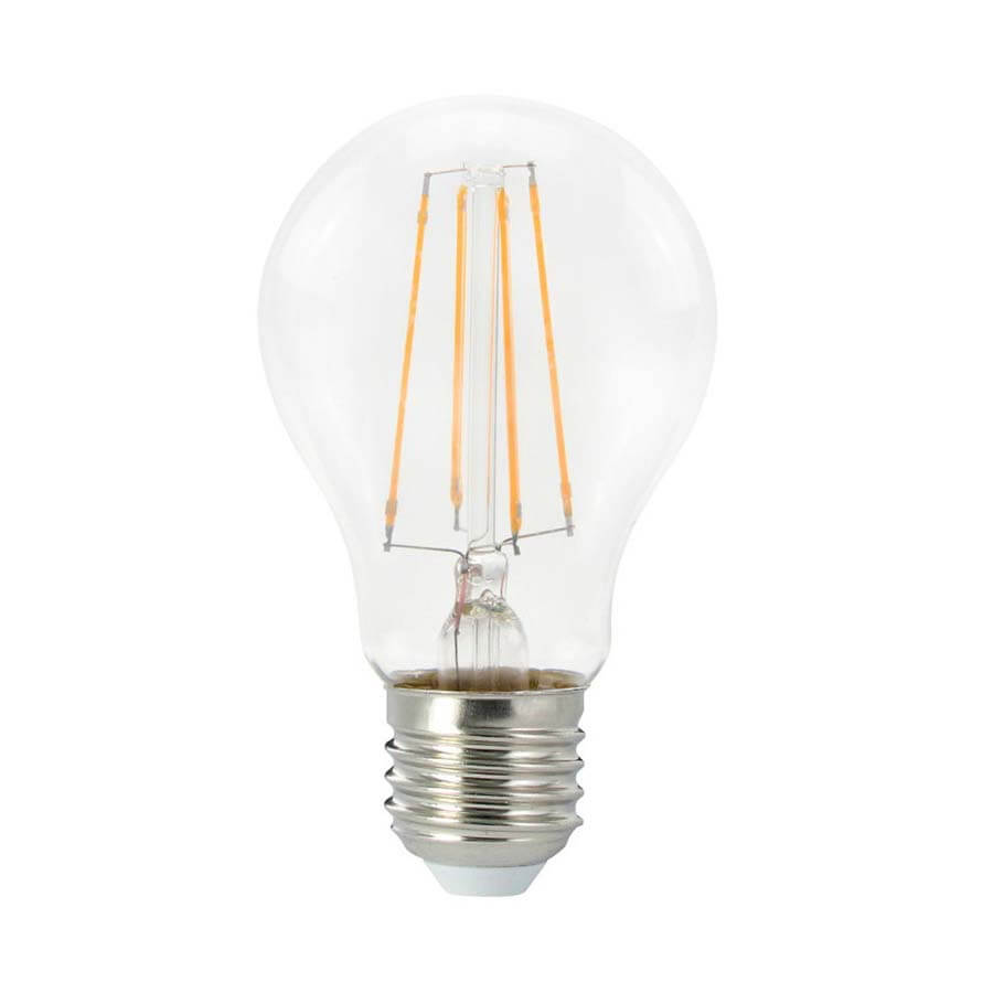 Ledlamp E27 bol helder dimbaar