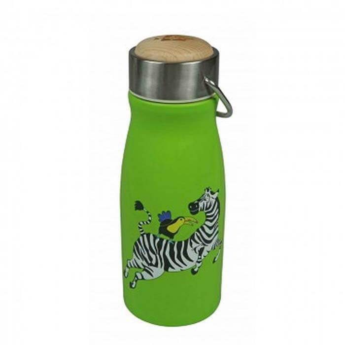 RVS Thermosfles Zebra