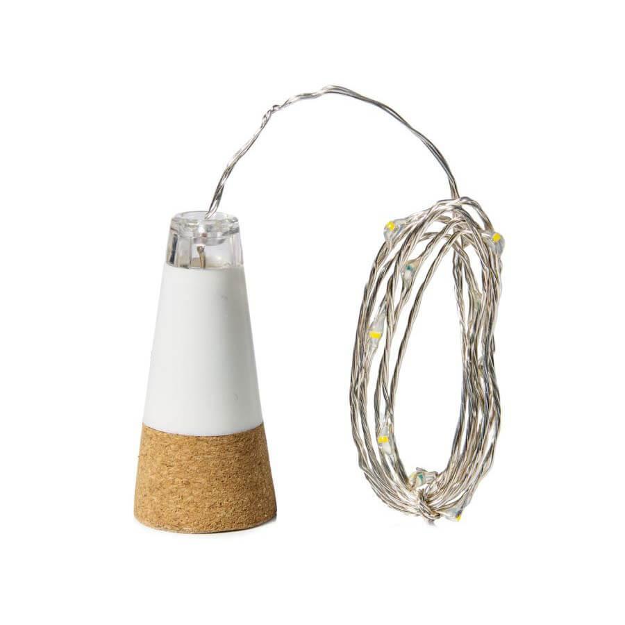 Bottlelight USB lamp met lichtsnoer